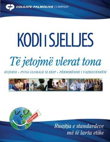 Të jetojmë vlerat tona Kujdesi • Puna globale si eKiP ... - Colgate