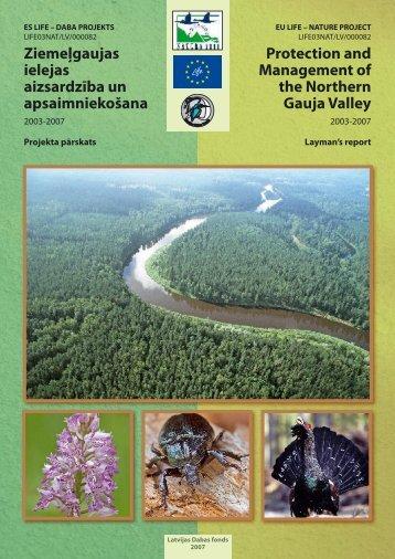 Ziemeļgaujas ielejas aizsardzība un ... - wise-rtd.info