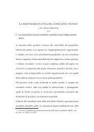 La responsabilità civile del consulente tecnico - Amami