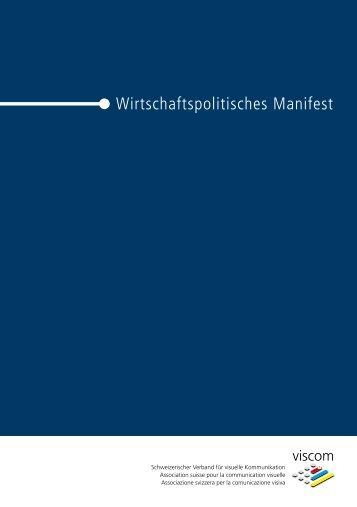 Wirtschaftspolitisches Manifest - Viscom