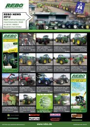 REBO NEWS 2012 - Rebo Landmaschinen GmbH