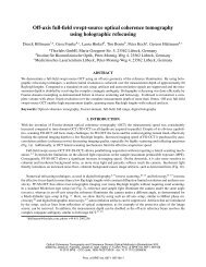 Off-axis full-field swept-source optical coherence tomography using ...