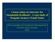 Conservation of rainwater for Sustainable livelihood - Igcp-grownet.org