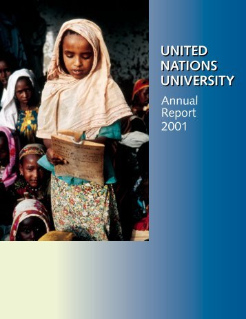 Annual Report 2001 - United Nations University