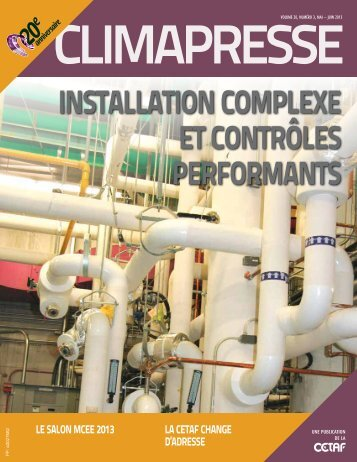 installation complexe et contrôles performants - CETAF