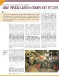 installation complexe et contrôles performants - CETAF - Page 6