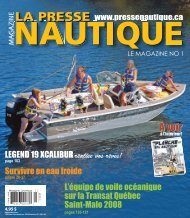La Presse Nautique, juillet 2008 - NautiPneu