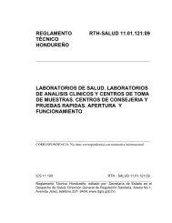 RTCA Biodiesel (B100) - Secretaria de Salud