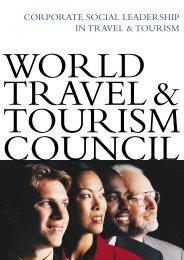 CORPORATE SOCIAL LEADERSHIP IN TRAVEL & TOURISM