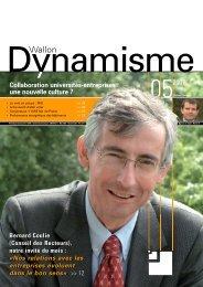 Dynamisme 205 xp - Union Wallonne des Entreprises