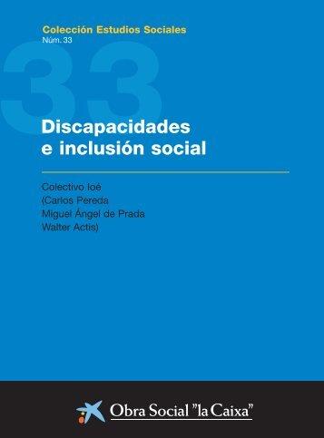 Discapacidades e inclusión social - Cortes de Aragón