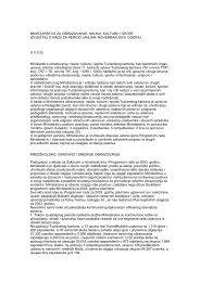 Izvještaj o radu za 2003.godinu