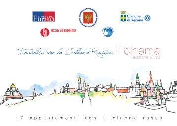 Incontri con la Cultura Russa: il cinema - Associazione Conoscere ...