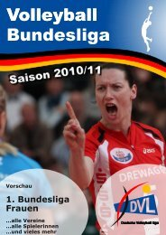 1. Bundesliga Frauen - DVL - Deutsche Volleyball Liga