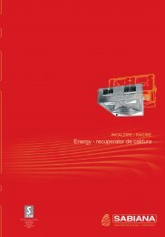 Energy - recuperator de caldura