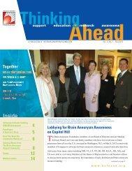Vol. 12, No. 1, Fall 2012 - The Brain Aneurysm Foundation