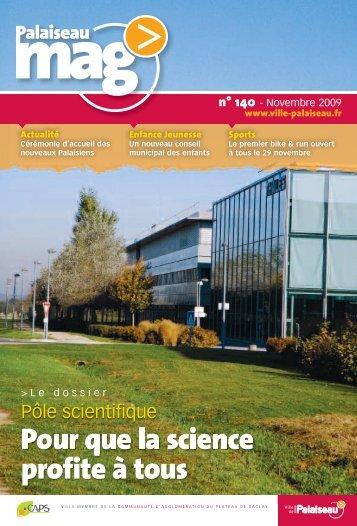 Mag 90 novembre 2004 ville de palaiseau for Piscine de palaiseau