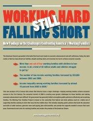 Still Working Hard, Still Falling Short - The Working Poor Families ...