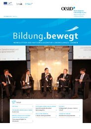 Newsletter 4/2011 - Nationalagentur Lebenslanges Lernen