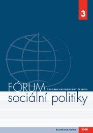č. 3/2008 - Výzkumný ústav práce a sociálních věcí