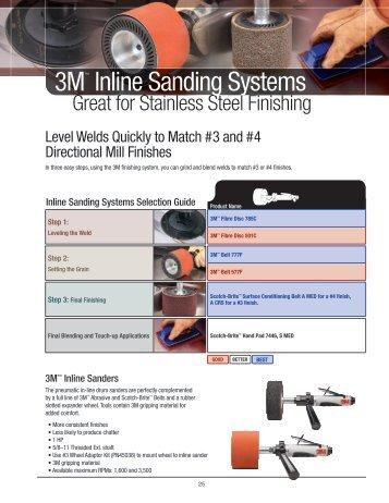 3M™ Inline Sanders
