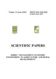 """Issue 2 - Scientific Papers Series """"Management, Economic ..."""