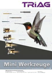 Mini-Drehwerkzeug-Katalog als PDF - TRIAG AG