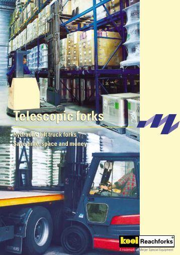 Telescopic forks Telescopic forks