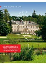 Events med fransk elegance - CWT Meetings & Events