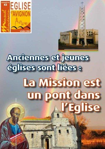 La Mission est un pont dans l'Eglise - Diocèse d'Avignon