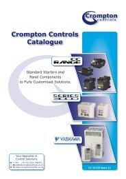 Crompton Controls Catalogue