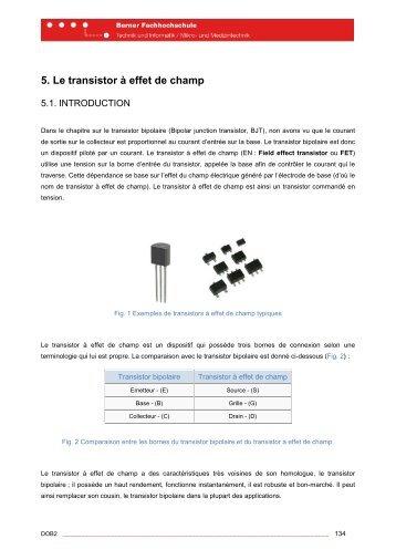 5. Le transistor à effet de champ - microLab