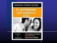 La Amistad en el Matrimonio - Iglesia Cristiana Cimiento Estable