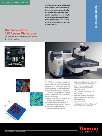 Thermo Scientific DXR Raman Microscope
