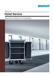 Produktion Qualität Innovation - in der Welt von Wanzl Hotel Service!