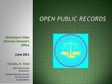 pdfs/Open Public Records (AWC June 2011).pdf - Washington ...