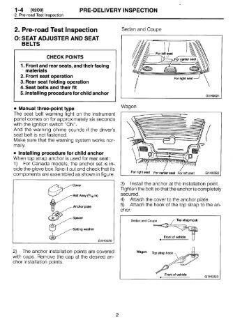 Pre delivery inspection sb 4000 xf euro 2 training for Mercedes benz cpo checklist