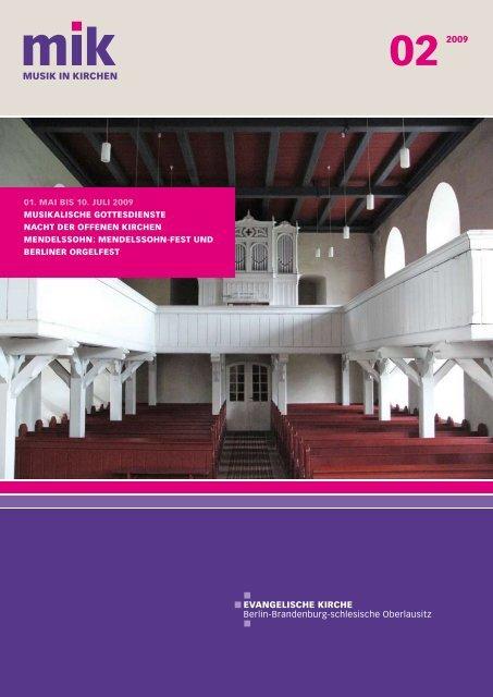 Download pdf (1,3 MB) - Musik in Kirchen