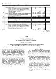 Dziennik Urzćdowy Województwa Mazowieckiego Nr 181 - Plany ...