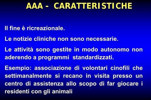 Le terapie assistite con animali - Alessandro Lenzi