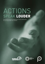 Actions Speak Louder - Offender Health Research Network