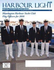 Huntington Harbour Yacht Club Flag Officers for 2010
