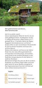 Offene Gärten 2011  - Offene Gartenpforte - Seite 5