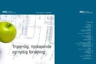 Årsrapport 2008 - Forsvarets forskningsinstitutt