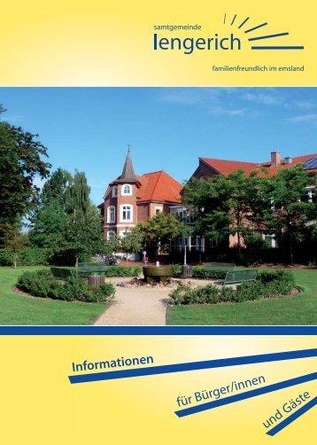 Informationen - Samtgemeinde Lengerich