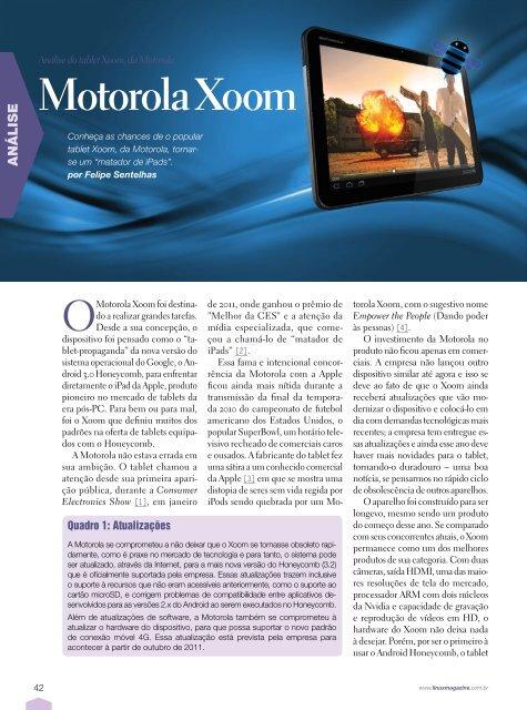 Motorola Xoom - Linux Magazine