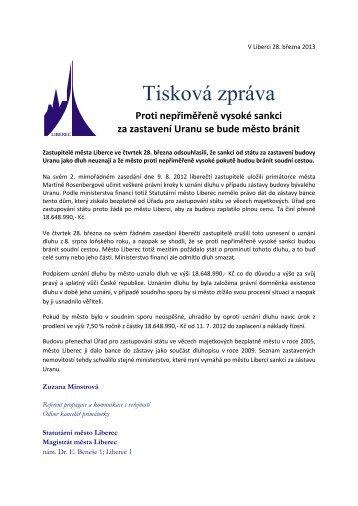 proti pokutě za zástavu Uranu se bude město bránit.pdf - Statutární ...