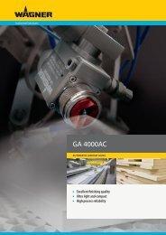 GA 4000AC - Wagner