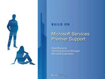 Microsoft Service Premier Support