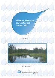 Riihimäen pintavesien seurantatulokset vuodelta 2012 (pdf, 3 Mb)